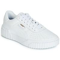 Schoenen Dames Lage sneakers Puma CALI Wit