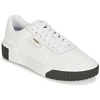 Schoenen Dames Lage sneakers Puma CALI Wit / Zwart