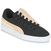 Schoenen Dames Lage sneakers Puma WN BASKET CRUSH PARIS.SILV Zwart