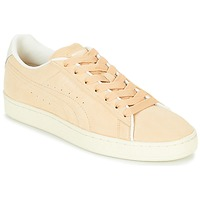 Schoenen Lage sneakers Puma SUEDE RAISED FS.NA V-WHIS Beige