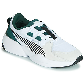 024480ab9b3 Schoenen Heren Lage sneakers Puma ZETA SUEDE.WHITE-PONDEROSA Wit