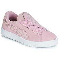 Schoenen Meisjes Lage sneakers Puma PS SUEDE CRUSH AC.LILAC Lila