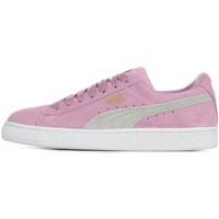 Schoenen Meisjes Lage sneakers Puma Suede Classic Jr Violet