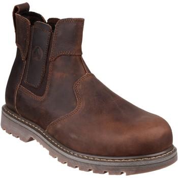 Schoenen Dames Laarzen Amblers  Bruin