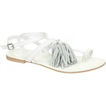 Schoenen Dames Sandalen / Open schoenen Leather Collection  Wit