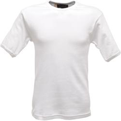 Textiel Heren T-shirts korte mouwen Regatta  Wit