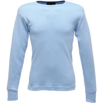 Textiel Heren T-shirts met lange mouwen Regatta  Lichtblauw