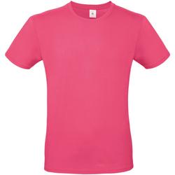 Textiel Heren T-shirts korte mouwen B And C TU01T Fuchsia