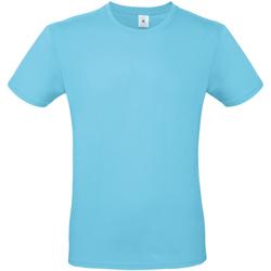 Textiel Heren T-shirts korte mouwen B And C TU01T Turquoise