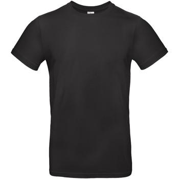 Textiel Heren T-shirts korte mouwen B And C TU03T Zwart