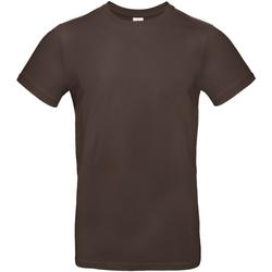 Textiel Heren T-shirts korte mouwen B And C TU03T Bruin