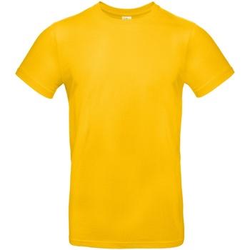 Textiel Heren T-shirts korte mouwen B And C TU03T Goud