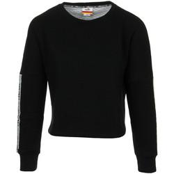 Textiel Dames Sweaters / Sweatshirts Ellesse Eh F Cropped SWS Noir Zwart