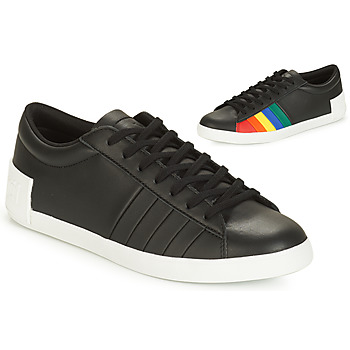 Schoenen Dames Lage sneakers Le Coq Sportif FLAG Zwart / Multicolour