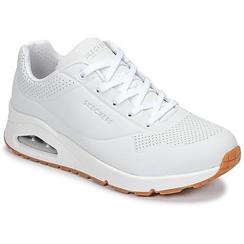 Schoenen Dames Lage sneakers Skechers UNO Wit