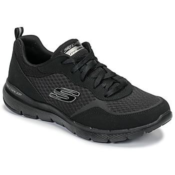 Schoenen Dames Fitness Skechers FLEX APPEAL 3.0 Zwart