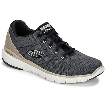 Schoenen Heren Fitness Skechers FLEX ADVANTAGE 3.0 Zwart
