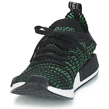 c779b0ed82c chique Schoenen Lage sneakers adidas Originals NMD_R1 STLT PK Zwart / Groen