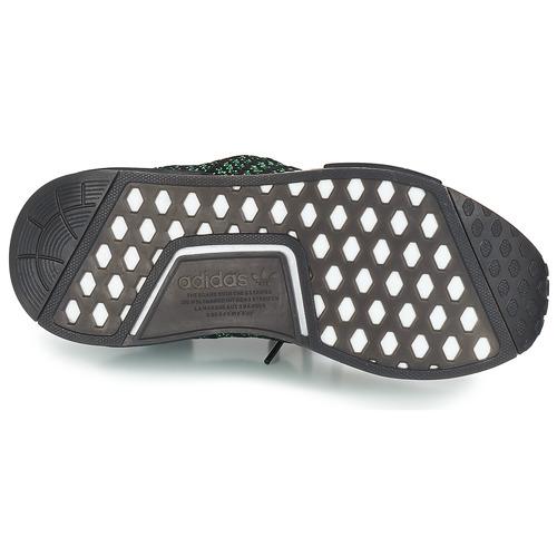 Schoenen KJKHGDsdgjdiJKJHM  adidas Originals NMD_R1 STLT PK Zwart / Groen