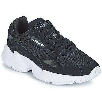 Schoenen Dames Lage sneakers adidas Originals FALCON W Zwart