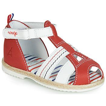 Schoenen Kinderen Sandalen / Open schoenen GBB COCORIKOO Rood