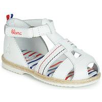Schoenen Kinderen Sandalen / Open schoenen GBB COCORIKOO Wit