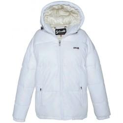 Textiel Dames Dons gevoerde jassen Schott Doudoune    JKT ALASKA W Blanc Wit