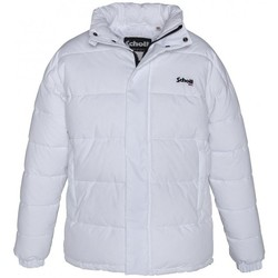 Textiel Dames Dons gevoerde jassen Schott Doudoune    NEBRASKA W Blanc Wit