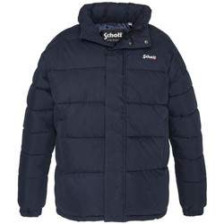 Textiel Dames Dons gevoerde jassen Schott Doudoune    NEBRASKA W Navy Blauw