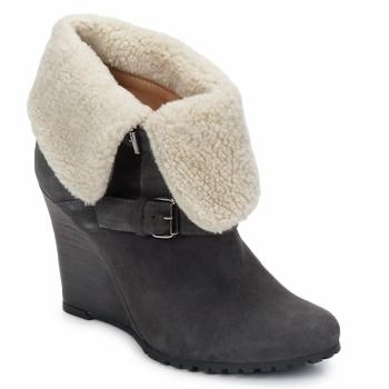 Schoenen Dames Enkellaarzen Atelier Voisin CARLA Grijs