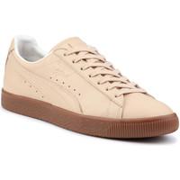Schoenen Heren Lage sneakers Puma Lifestyle shoes  Clyde Veg Tan Naturel 364451 01 beige