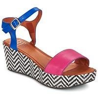 Schoenen Dames Sandalen / Open schoenen Betty London COQUETTE Fushia / Blauw