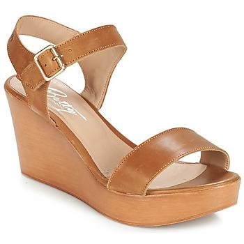 Schoenen Dames Sandalen / Open schoenen Betty London CHARLOTA Bruin