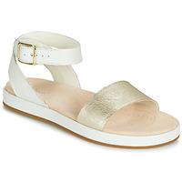 Schoenen Dames Sandalen / Open schoenen Clarks BOTANIC IVY Wit
