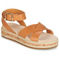 Schoenen Dames Sandalen / Open schoenen Clarks BOTANIC POPPY Bruin