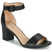 Schoenen Dames Sandalen / Open schoenen Clarks DEVA MAE Zwart