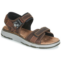 Schoenen Heren Outdoorsandalen Clarks UN TREK PART Bruin