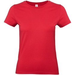Textiel Dames T-shirts korte mouwen B And C E190 Rood