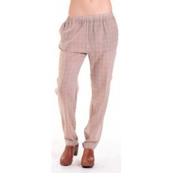 Textiel Dames Losse broeken / Harembroeken American Vintage PANTALON ABI178 MIEL/SABLE Beige
