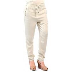 Textiel Dames Broeken / Pantalons Version Sud PANTALON PINAKI ECRU Beige