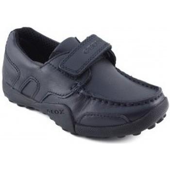 Schoenen Jongens Lage sneakers Geox JW SNAKEN COLEGIAL MARINO
