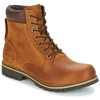 Schoenen Heren Laarzen Timberland EK RUGGED 6 IN PLAIN TOE BOOT Bruin
