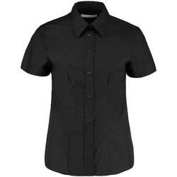Textiel Dames Overhemden Kustom Kit KK360 Zwart