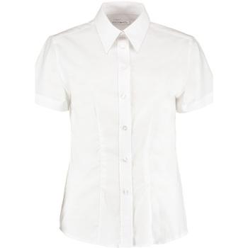 Textiel Dames Overhemden Kustom Kit KK360 Wit