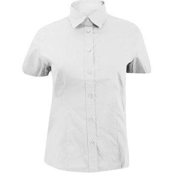 Textiel Dames Overhemden Kustom Kit KK719 Wit