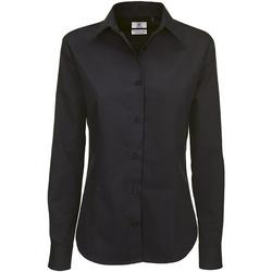 Textiel Dames Overhemden B And C SWT83 Zwart