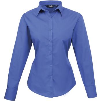 Textiel Dames Overhemden Premier PR300 Koninklijk
