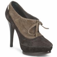 Schoenen Dames Low boots Alberto Gozzi CAMOSCIO ARATY Bruin