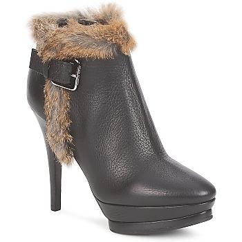 Schoenen Dames Low boots Alberto Gozzi BOTERO GADRO Zwart
