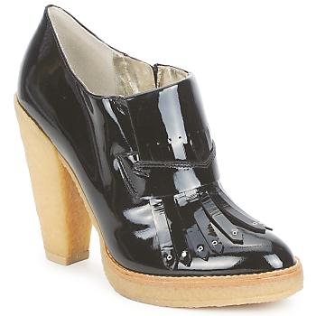 Schoenen Dames Low boots Belle by Sigerson Morrison SHEEP Zwart / Steen / Panna